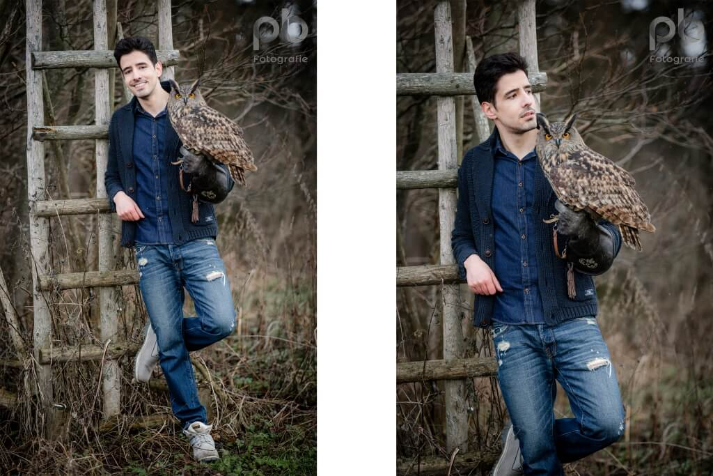 Shooting mit Greifvögeln